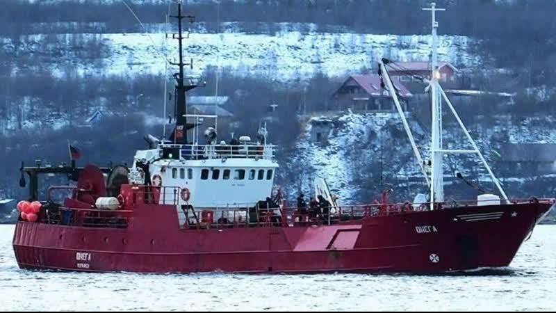 ВБаренцевом море продолжается поиск рыбаков сзатонувшего траулера Новости Пятый канал