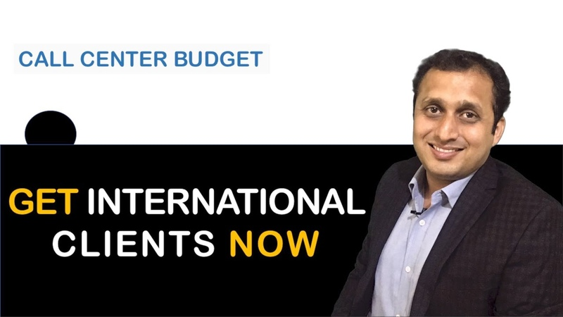 HOW TO GET CALL CENTRE CLIENT FROM US CALL CENTER BUSINESS BUDGET