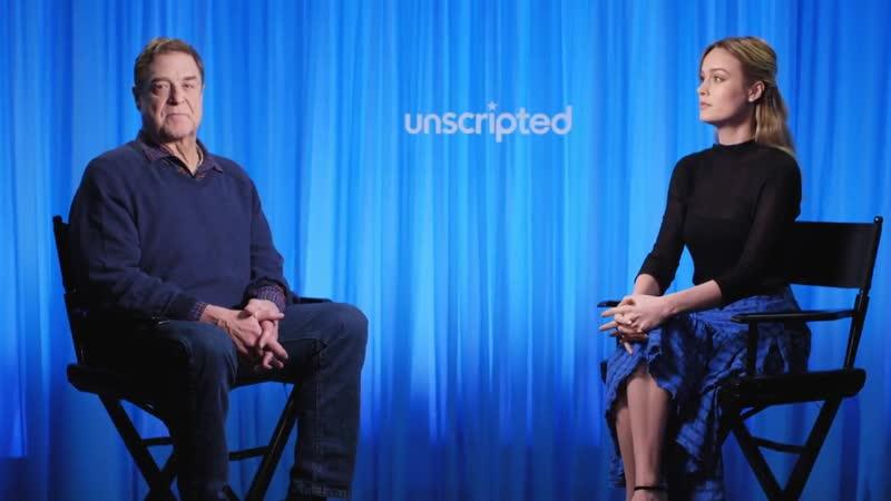 Kong Skull Island Unscripted Brie Larson John Goodman