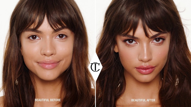 How To Get The Supermodel Rose Gold Makeup Look 10 Iconic Looks Charlotte Tilbury