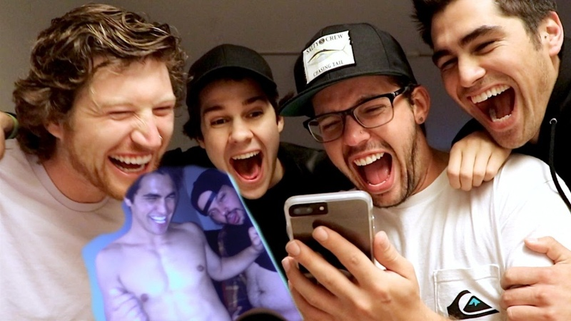 REACTING TO OUR CRINGEY EMBARRASSING PHOTOS