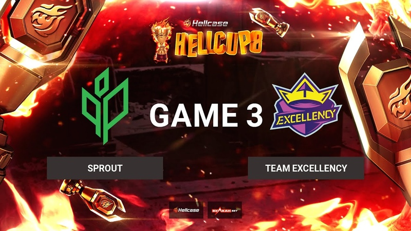 RU Sprout vs Team Excellency Карта 3 Nuke BO3 Hellcase Cup 8 Группа В
