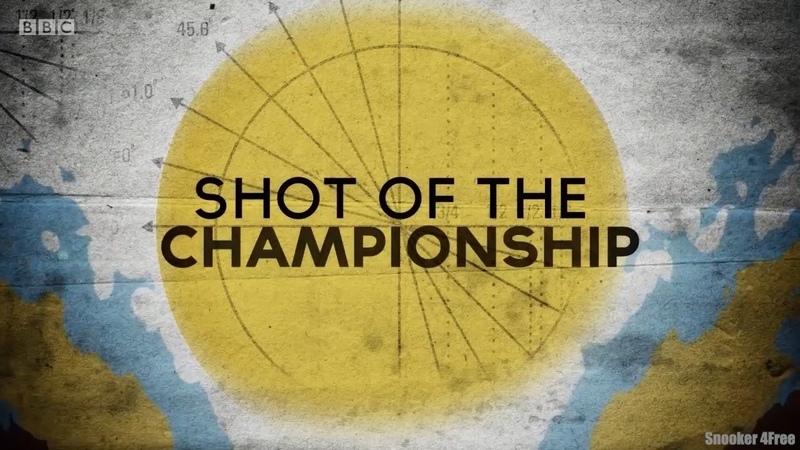 BEST SHOTS OF SNOOKER WORLD CHAMPIONSHIP 2019
