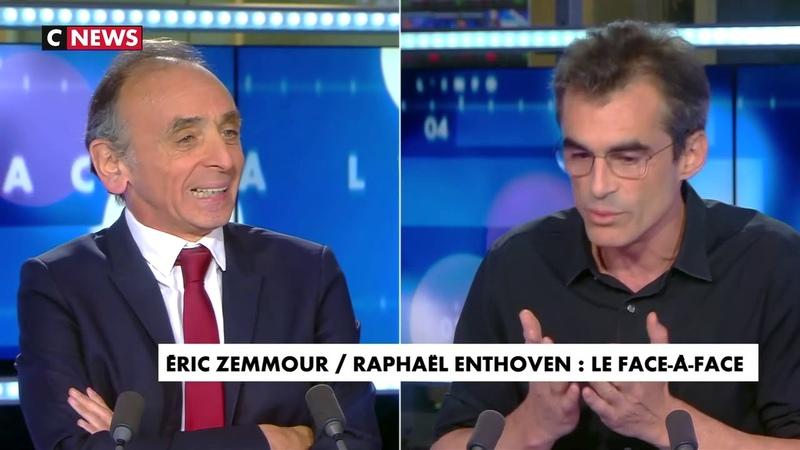 Face à l'info du 03 07 2020 Éric Zemmour face à Raphaël Enthoven