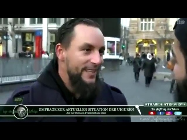 Muslime in Frankfurt Wir müssen aus Deutschland ein islamisches Kalifat machen *unfassbar*