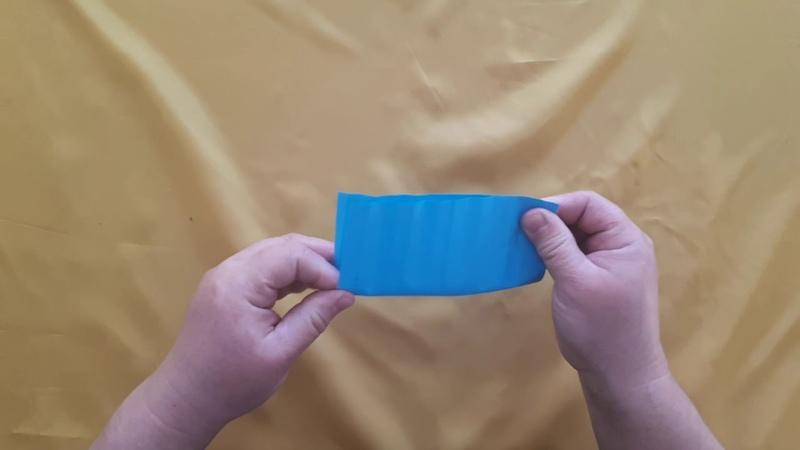 Мастер класс Цветная пружинка в технике оригами для хорошего настроения