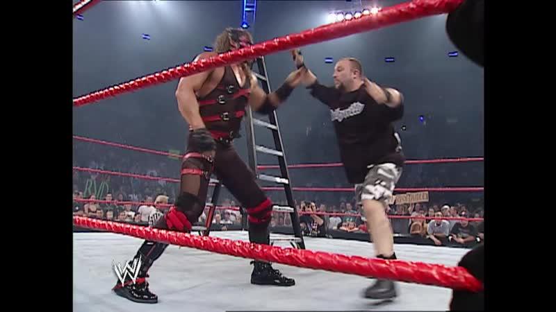 WM Крис Джерико и Кристиан против Джеффа Харди и Роба Ван Дама против Братьев Дадли против Кейна Ро 07 10 2002
