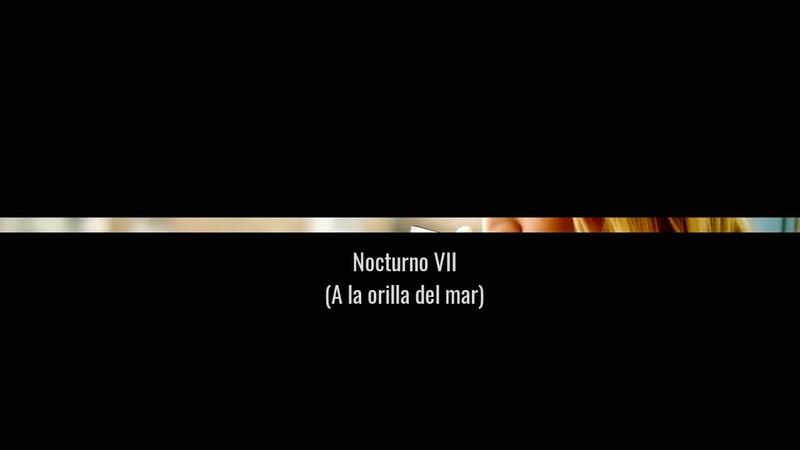 José Ángel Buesa - Nocturno VII (A la orilla del mar)