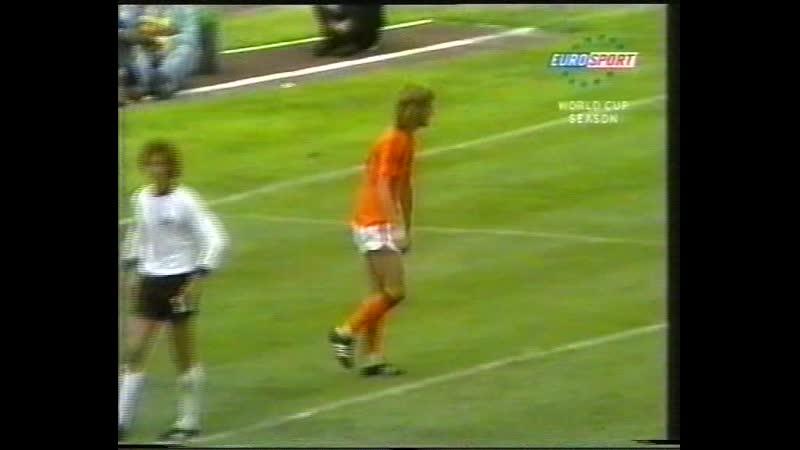 Сборная Голландии на ЧМ 1974 и 1978 (сюжет Евроспорта).