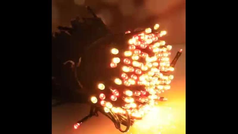 10 м 100 светодиодный гирлянды светильник для создания