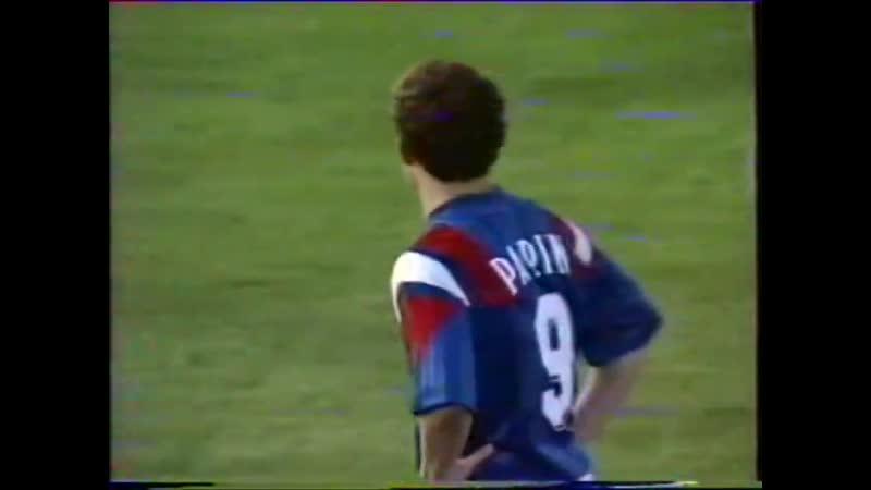 Жан-Пьер Папен - гол Дании на Евро-1992