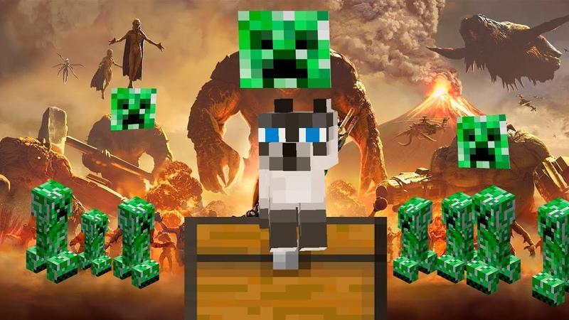Serious Sam 4 Planet Badass Minecraft trailer Serious CAT