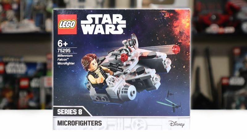 LEGO Star Wars 75295 MILLENNIUM FALCON Microfighter Review! (2021)