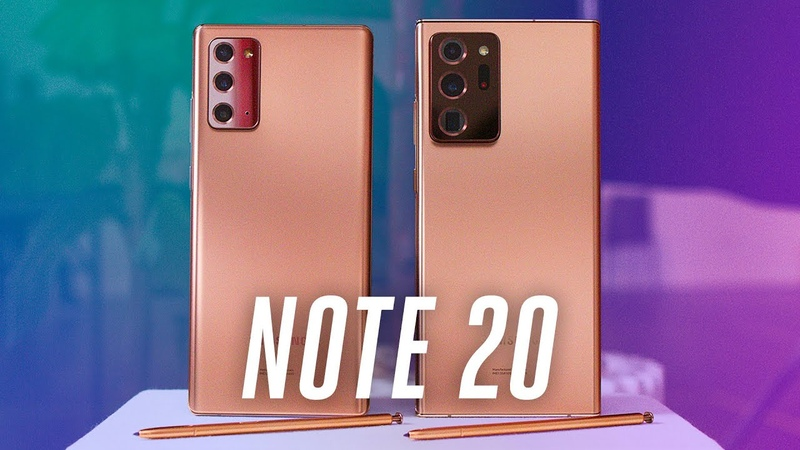 Galaxy Note 20 and 20 Ultra two very different phones