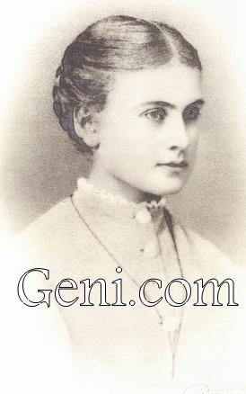 Супруга К.Г. Берга Мария Наталия Берг (ур. Крохнс) (1852 — 1921)