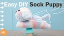 How to Make a Sock Doll, DIY dolls from socks 2 (Puppy)
