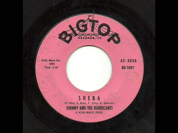 Johnny And The Hurricanes - Sheba (Big Top)
