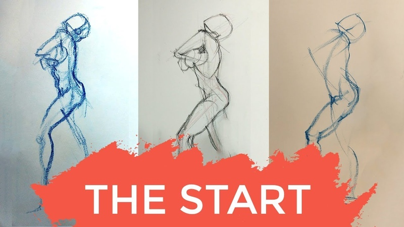 How to START A FIGURE DRAWING - making sense of the many methods