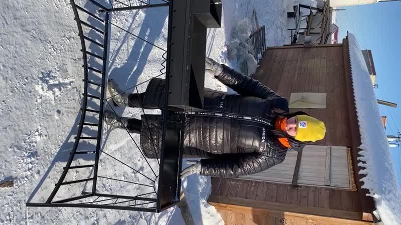 Победитель Екатерина Мыслейко Приз мангальная зона Солнце гора