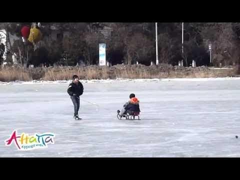 В Анапе жителей призвали не выходить на лед это опасно для жизни