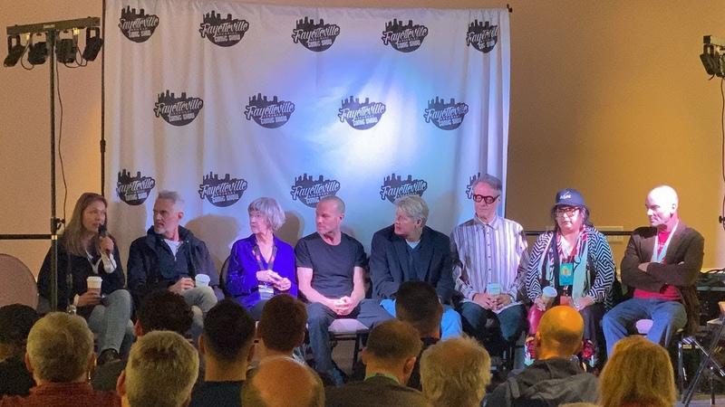 Fayetteville Comic Show 2020 Cast of Twin Peaks Panel