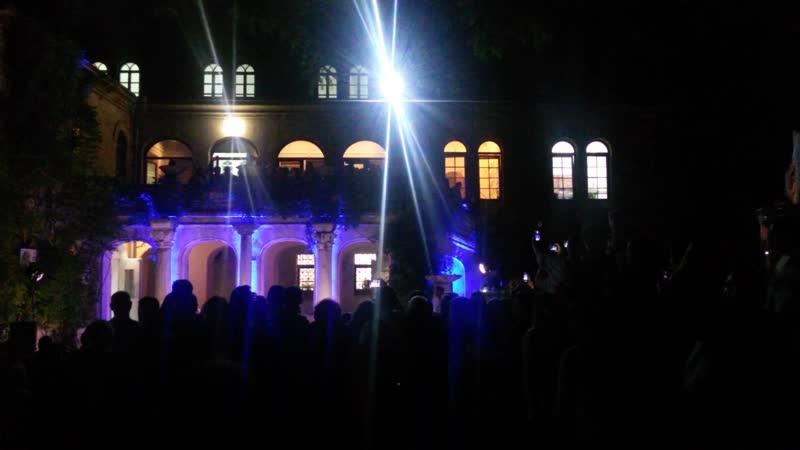 Ночь музеев 2019 Византийский дворик Латиноамериканский оперный певец Игнасио Гомез Урра