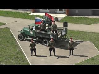Как на фронте: мини-концерты под окнами домов ветеранов в Самаре