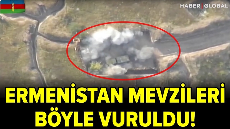 Azerbaycan Ordusu Ateş A an Ermenistan Mevzilerini Böyle Vurdu! Türkiye den Destek Yağdı