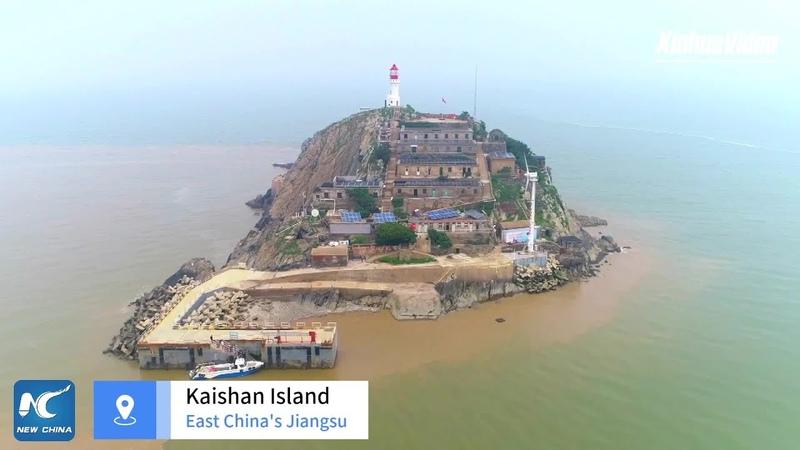 First island base station for BeiDou starts operations in Chinas Jiangsu