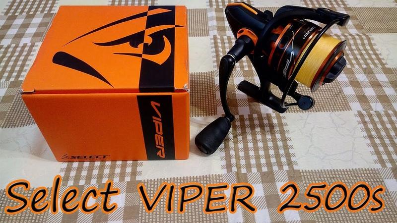 краткий обзор бюджетной катушки Selekt Viper 2500s