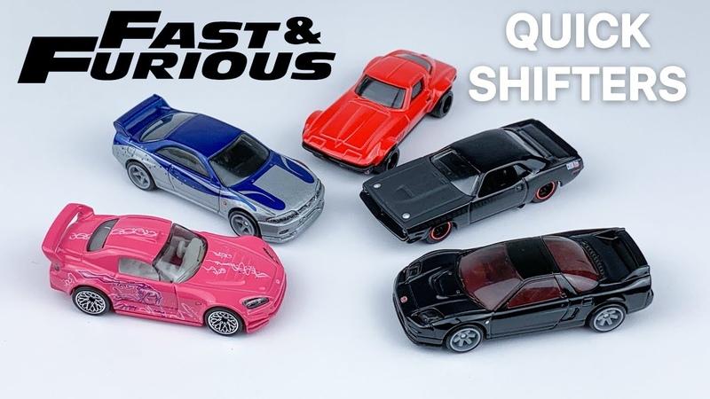 UNBOXING 2020 Hot Wheels Premium FAST FURIOUS Quick Shifters Suki's Honda S2K Mia Toretto NSX