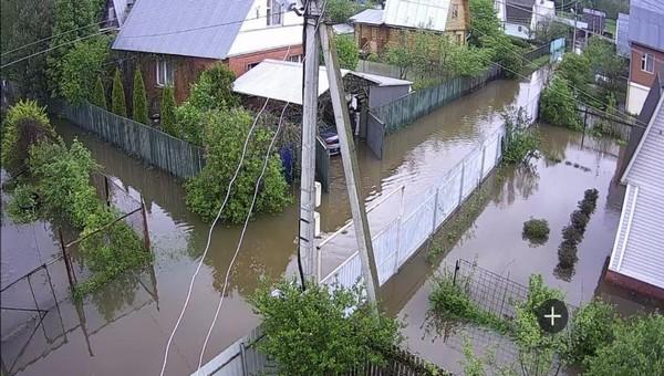131 придомовая территория остается затопленной на территории Дмитровского городского округа