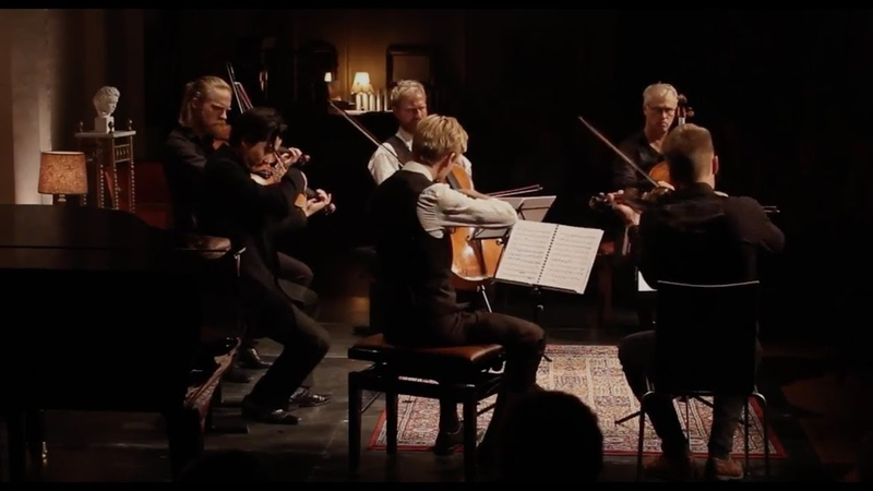 Brahms Sextet in B flat major, op. 18 - 2nd mov. Live from DSQ Festival 2016