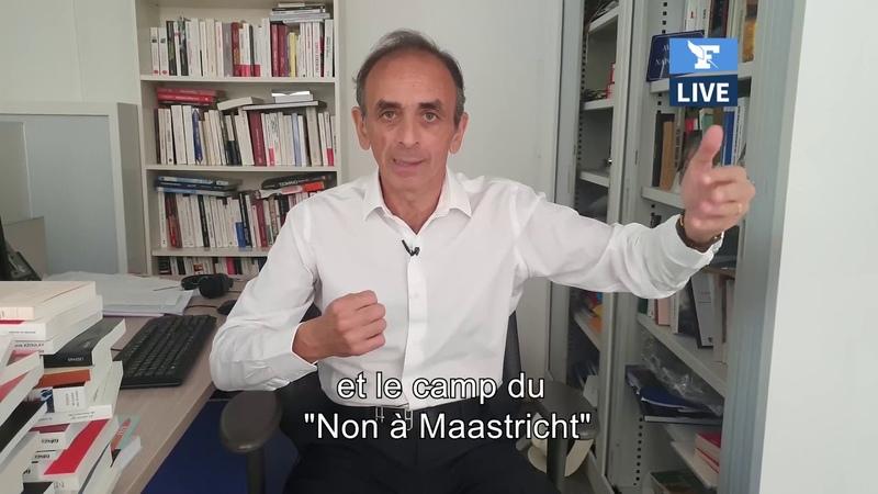 Eric Zemmour réagit à la création du Front Populaire par Michel Onfray