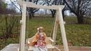 Качели для Барби, Тильды и других кукол с ростом 30 см и выше.