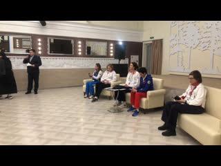 Встреча с олимпийскими чемпионами в Кировском ДК