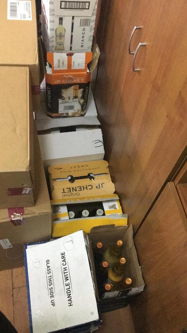 Под Таганрогом таможенники задержали автомобиль с алкогольной и табачной продукцией из «DUTY FREE»
