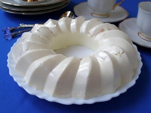 Обалденный десерт для деток!!! ТВОРОЖНОЕ БЛАНМАНЖЕНежный десерт, который очень нравится взрослым и особенно детям. Этот изумительный десерт готовится без выпечки. А значит можно попросить помощи
