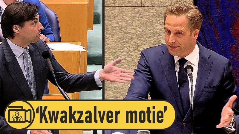 'Kwakzalver' Thierry Baudet promote hydroxychloroquine in Tweede Kamer