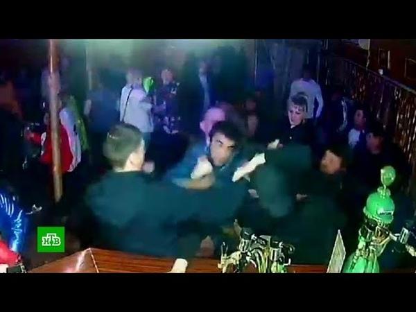 Шарья на НТВ. Не поделили танцпол: отдыхающие подрались в ночном клубе под Костромой