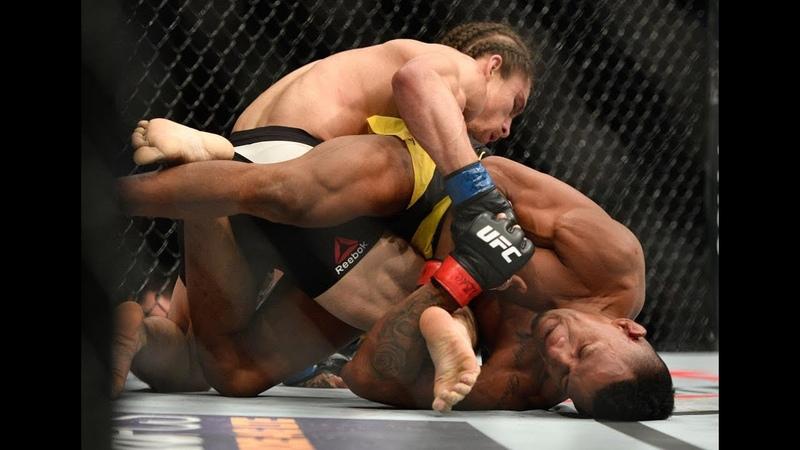 Melhores chaves de joelho retas da história do UFC