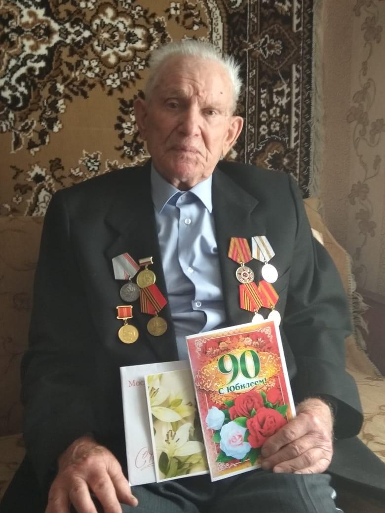 Сегодня 90-летний юбилей отмечает петровчанин Георгий Андреевич СМОЛЬКОВ