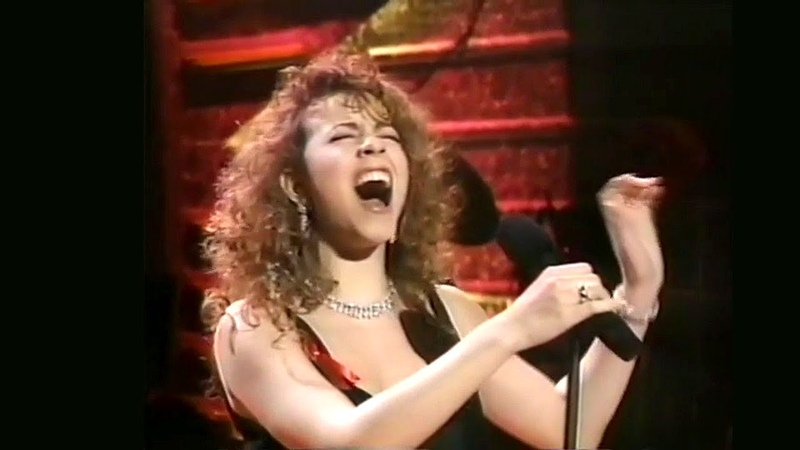 Mariah Carey If It's Over Live From Grammy Awards 1992 BEST QUALITY