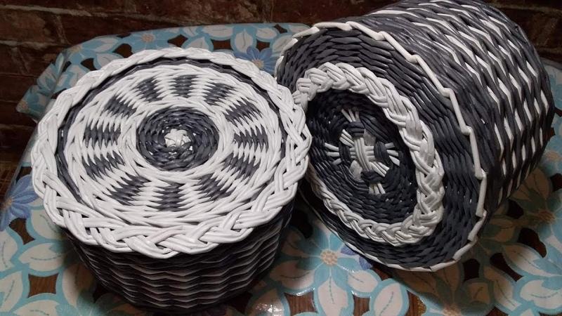 Плетеная крышка Косичка для формирования внутреннего бортика
