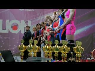 Выступление девушек на финале Железной лиги и Кубке Москвы по тяжёлой атлетике