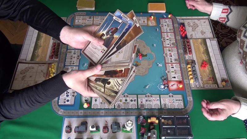 Эпохи 1 2 часть играем в настольную игру Tapestry board game