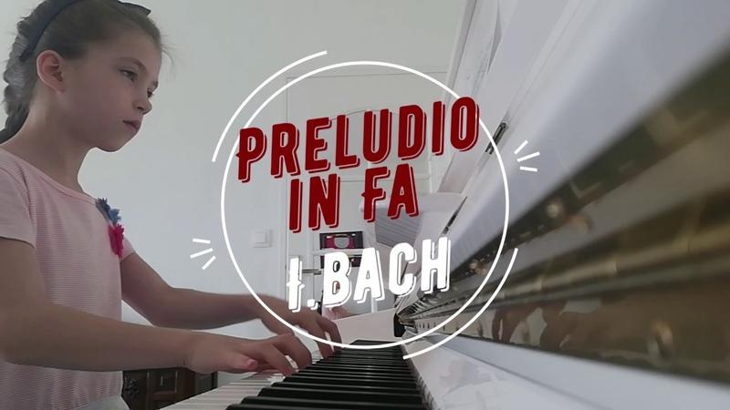 Preludio in Fa Majeur BWV 927 ANGELINA