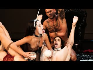 Anna De Ville, Malena, Martina Smeraldi - Fist, Holes Sorcery (Anal, Group Sex, Hardcore, Big Tits, Blowjob, Brunette)