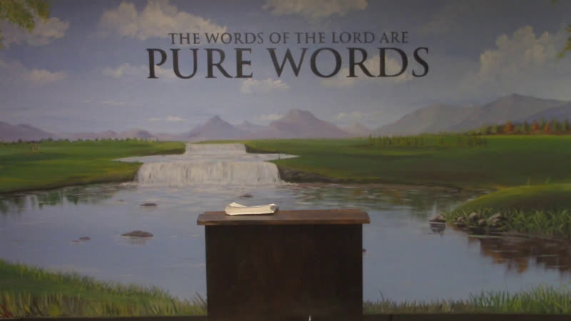 Psalms 3 - Pure Words Baptist Church | Pastor Jonathan Shelley