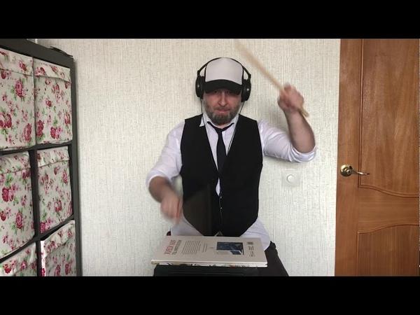 Шоу 8 барабанщиков Нижневартовск Малиновский АВ Virus Quad toms